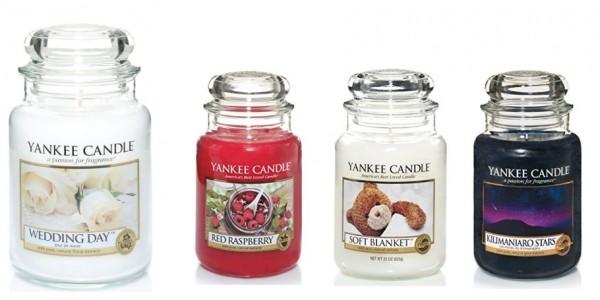 Selected Yankee Candle Large Jars £13.99/£14 @ Amazon