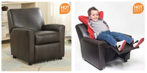 Leather Children's Recliner Armchair Now £44.89 Delivered @ Costco