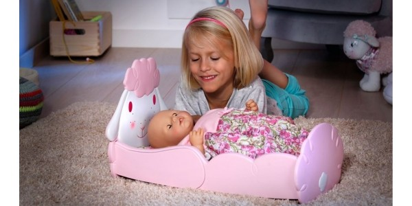 Half Price Baby Annabell Sheep Bed Now £12.49 @ Smyths