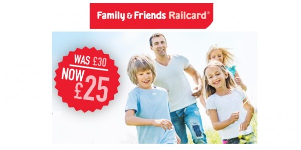 Easter Offer: £5 Off Family & Friends Railcard (With Code) @ National Railcards
