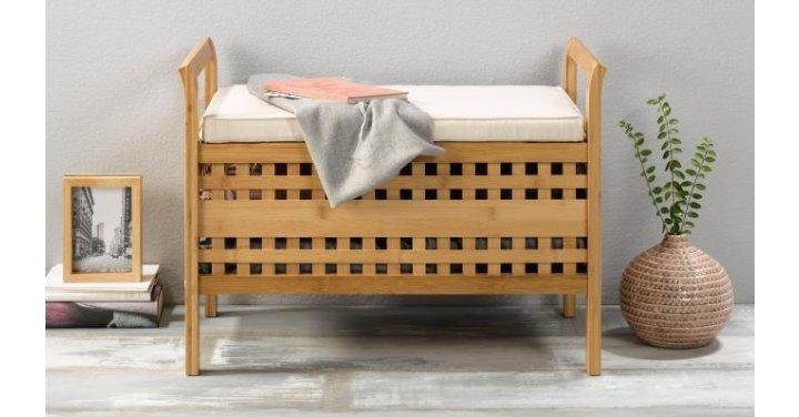 Heads Up Livarno Living Storage Bench Amp Cushion 163 34 99 Lidl