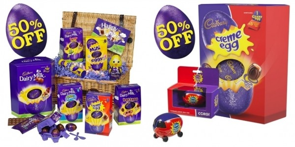 50% Off Selected Easter Gifts @ Cadbury Gifts Direct (Expired)