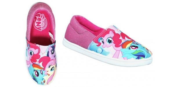 Save 1/3 On My Little Pony Canvas Slip On Shoes @ Argos