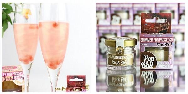 NEW Popaball Rose Gold Prosecco Shimmer £6.99 @ Lakeland
