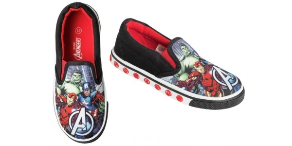 Avengers Canvas Trainers Now £5.49 @ Argos