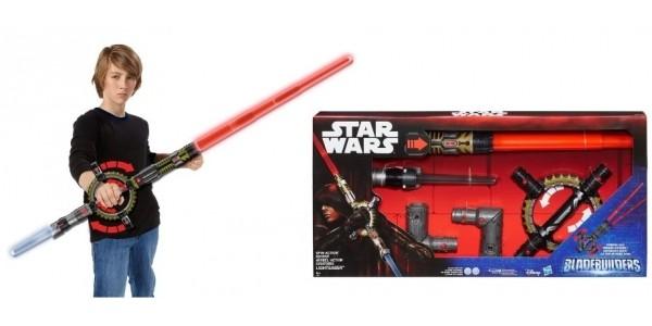 Star Wars BladeBuilders Spin-Action Lightsaber £14.99 (was £33.50) @ Smyths Toys