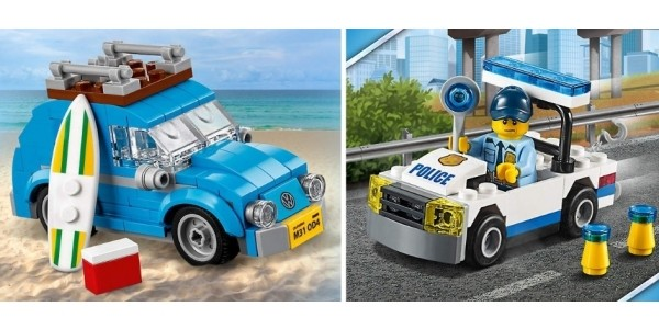 LEGO Offer Stack: 2 Free Gifts + Free Delivery When You Spend £35 On Lego City @ The Lego Shop