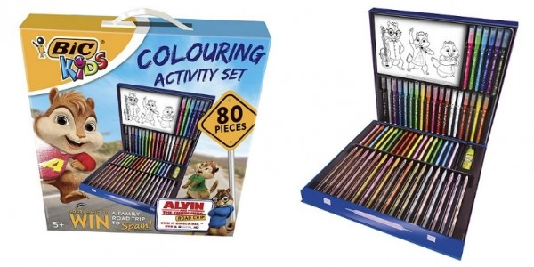 Bic Kids Colouring Activity Set 80 Pieces £6 @ Tesco Direct