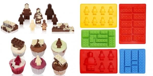 LEGO Shaped Silicone Moulds (Set Of 5) £8.98 @ Amazon Seller: Nolimits