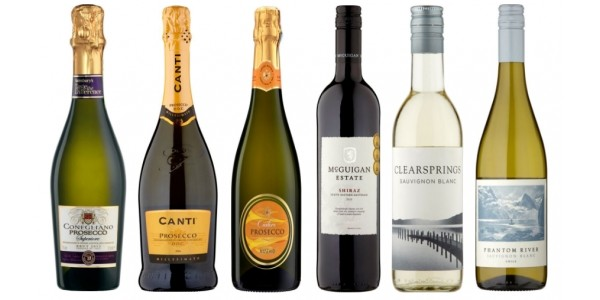 Offer Stack: Buy 6 Bottles Of Wine Save 25% PLUS £15 Off Your 1st Shop @ Sainsbury's