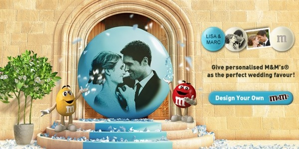 Save £20 On Personalised M&M's Wedding Favours