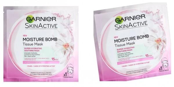 Garnier Moisture Bomb Chamomile Tissue Mask £1.50 Delivered (Was £2.99) @ Superdrug