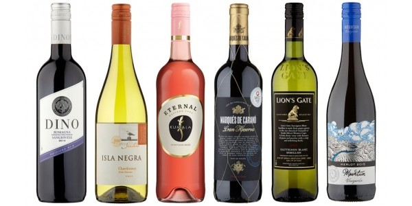 Save 25% When You Buy 6 Or More Bottles Of Wine @ Tesco