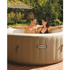 Intex 120 air jet spa pool hot tub aldi - Intex pool set aldi ...
