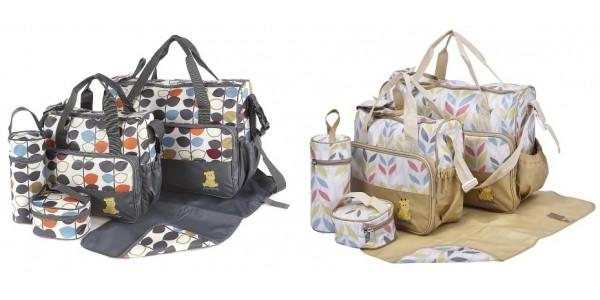 5 Piece Baby Changing Bag & Hospital Bag Set £14.99 Delivered @ Amazon
