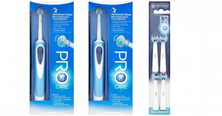 Superdrug Pro Care Rechargeable Toothbrush £9.99 Delivered ...