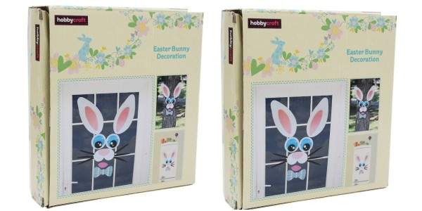 1/2 Price Easter Bunny Decoration Kit Now £2.50 @ Hobbycraft