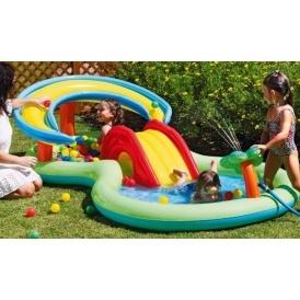 Chad valley activity pool play centre argos for Garden pool argos