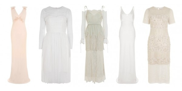 Limited Edition Wedding Dresses Now Available @ Topshop