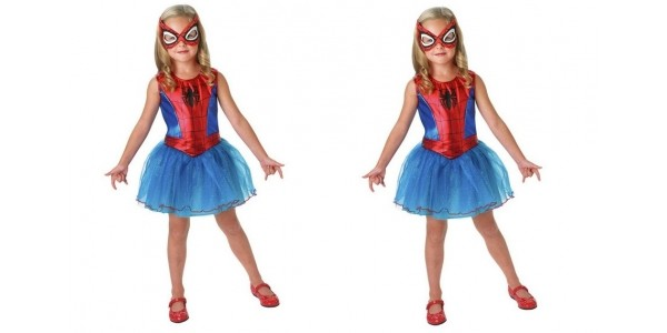 Spider-girl Fancy Dress Costume Age 5-6 £6.59 (was £21.99) @ Argos