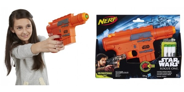 Star Wars Rogue One Nerf Captain Cassian Andor Blaster £5.99 ( was £21.99) @ Argos