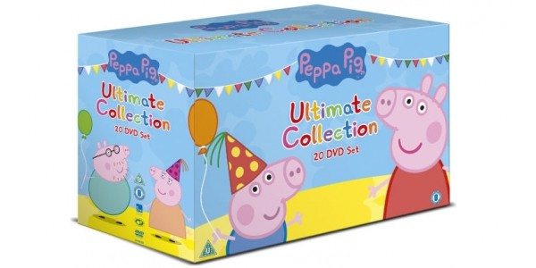 Peppa Pig Ultimate 20 DVD Boxset £21.99 With Free Delivery