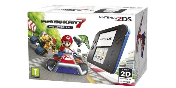 Nintendo 2DS With Mario Kart 7 £69 With Free Delivery @ Tesco eBay Outlet