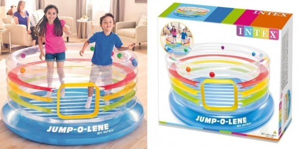Intex Jump-O-Lene Ring Bouncer £40 (was £59.99) @ The Works