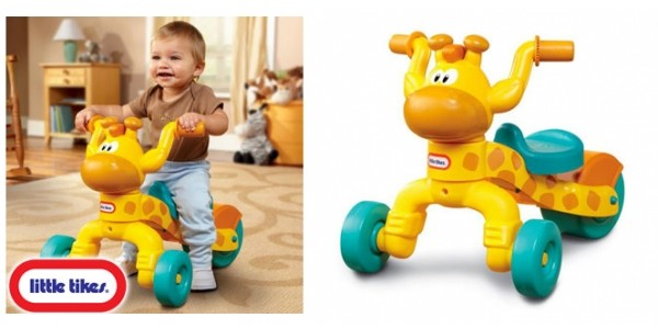 Little Tikes Go and Grow Lil' Rollin' Giraffe Ride On Now £19.99 @ Home Bargains