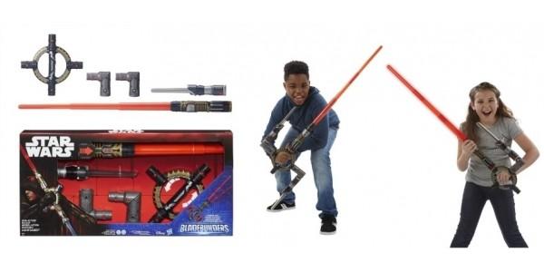 Star Wars BladeBuilders Spin-Action Lightsaber £12.99 (was £49.99) @ Argos