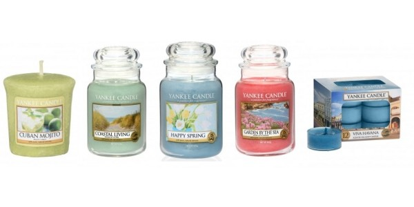20% Off Brand New & Limited Edition Yankee Candles @ Temptation Gifts