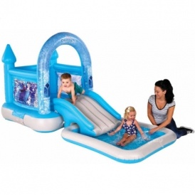 Disney frozen bouncy castle with pool 59 delivered ebay for Garden pool tesco