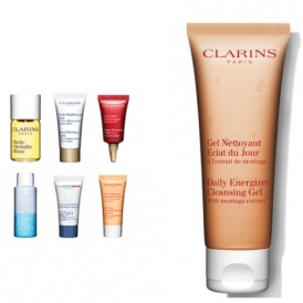 SIX Free Samples With ALL Orders @ Clarins