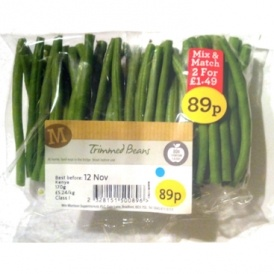 Urgent Recall On Morrisons Trimmed Beans