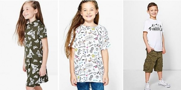 50% Off Kidswear Using Code @ Boohoo