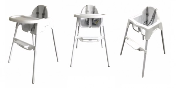 Bebe Style Classic 2 in 1 Highchair & Junior Chair £12 @ Asda George