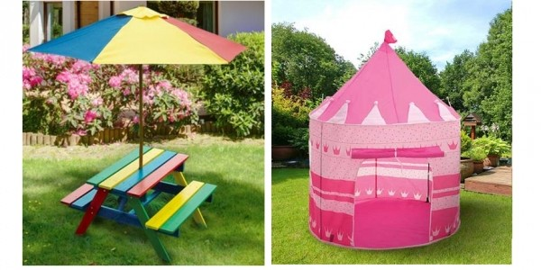 Children's Garden Furniture & Toy Bargains @ Wowcher