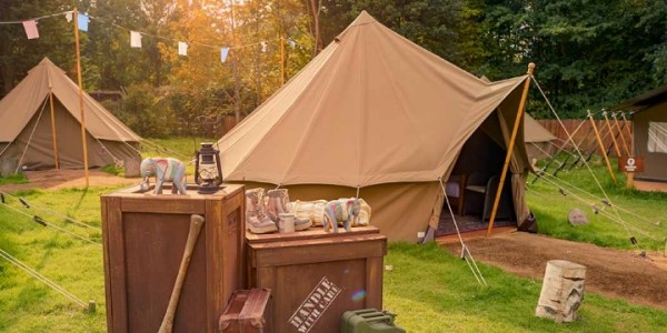 Glamping Flash Sale: Prices From £149 Per Family @ Chessington World Of Adventures