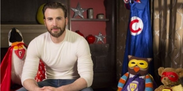 Captain America Star Chris Evans To Read CBeebies Bedtime Story