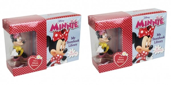 Disney Minnie My Little Storybook Library With Figurine 80p @ The Works (Expired)