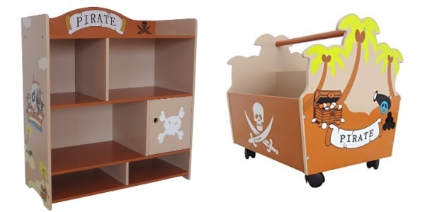 Bebe Style Children's Pirate Wooden Furniture From £2.99 @ Amazon Seller: Kiddy Products