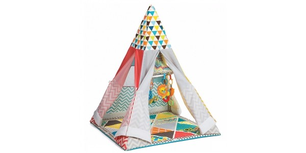 Infantino Grow With Me Playtime Gym Teepee @ Mothercare