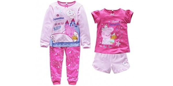 Peppa Pig 2 Pack Of Pyjamas £7.49 (was £14.99) @ Argos