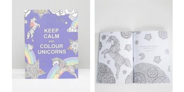 Keep Calm and Colour Unicorns Book £3.99 @ Amazon