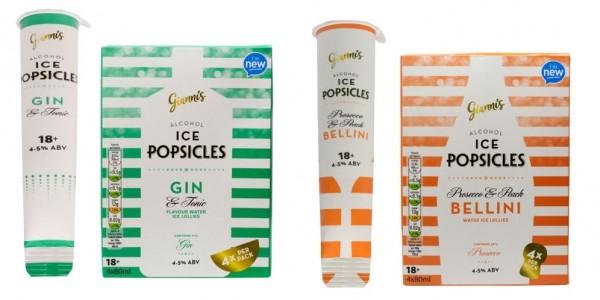 Aldi Launch Gin & Prosecco Ice Pops!