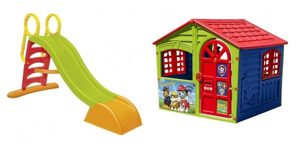 Offer Stack: Up To 50% Off Selected Outdoor Toys + Extra 10% Off (Using Code) @ Tesco Direct