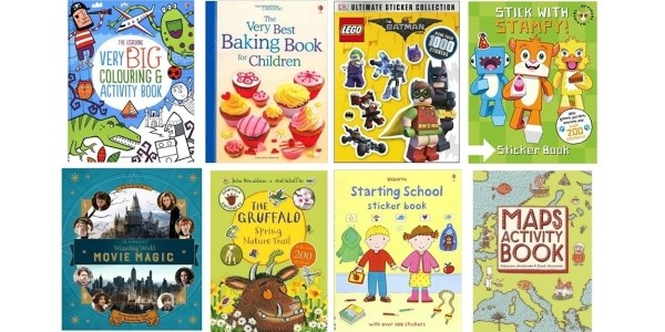 4 For £10 With Free Delivery On Selected Children's Books & Activity Books