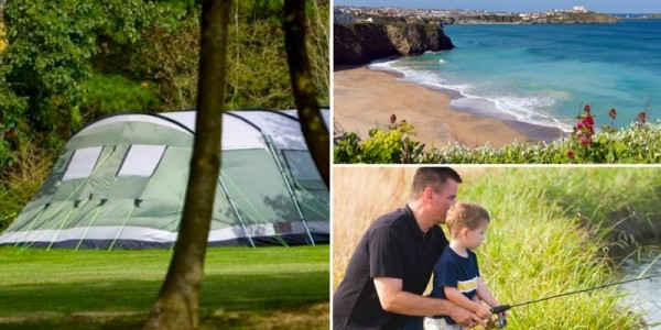 Up To 7 Nights Camping Pitch Stay For Family Of Four (With Electricity) Monkey Tree Holiday Park From £15 @ Groupon