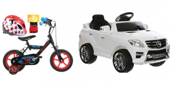 10% Off Bikes & ALL Ride On Toys (With Code) @ Halfords