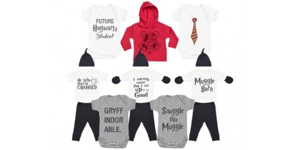 Harry Potter Baby & Toddler Clothing From £5.99 @ Groupon